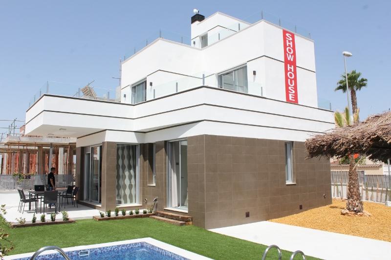 Neue Moderne Villen In Rojales